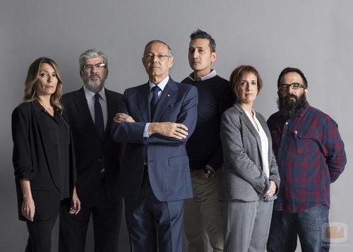 Los detectives de 'La huida'