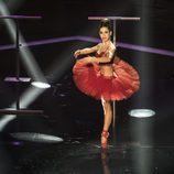 Elena Suárez en el casting final de 'Top Dance'