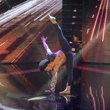 Axe Peña en el casting final  de 'Top Dance'