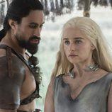 Daenerys conoce a Khal Moro en 'Juego de Tronos'