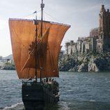 Un navío de la Casa Martell llega a puerto en 'Juego de Tronos'