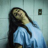 Saray, desmayada en su celda de aislamiento en Cruz del Sur