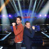 """Dioni de """"Camela"""" y su hijo Rubén participantes de 'Levántate All Stars'"""