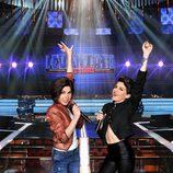 La cantante Angy y su hermana Irene, concursantes de 'Levántate All Stars'