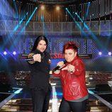 Rafa Blas y Maika de 'La Voz', concursantes de 'Levántate All Stars'