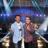 Toño Sanchís y Alfonso Aguado, concursantes de 'Levántate All Stars'