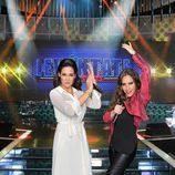 Vicky Martín Berrocal y  María Toledo, concursantes de 'Levántate All Stars'
