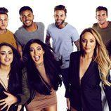 Los participantes  de la temporada 12 de 'Geordie Shore' posan sonriéntes