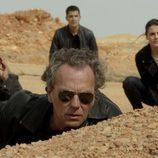 Fran Marcos, Faruq, Marina y Morey observan preocupados en 'El Príncipe'