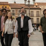 La patrulla y Cervantes viajan a Alcalá de Henares