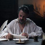 Cervantes escribe