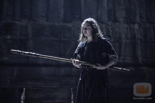 Arya Stark en el capítulo 3 de la sexta temporada de 'Juego de tronos'
