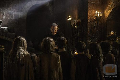 Qyburn en el capítulo 3 de la sexta temporada de 'Juego de tronos'