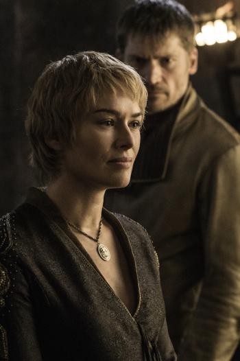 Cersei y Jaime Lannister en el capítulo 3 de la sexta temporada de 'Juego de tronos'