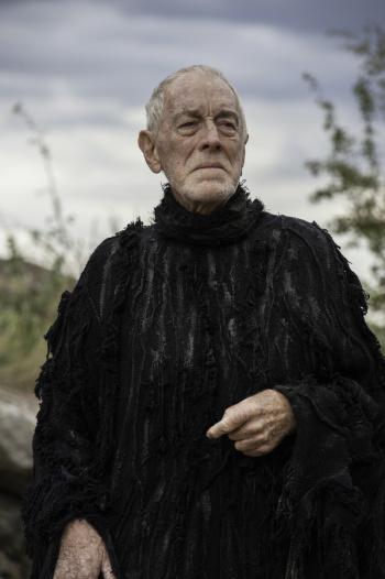 El cuervo de tres ojos en el capítulo 3 de la sexta temporada de 'Juego de tronos'
