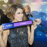 Barei conoce que actuará en la segunda mitad del Festival de Eurovisión 2016