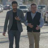 Iñaki y Antonio caminan juntos en 'Allí Abajo'