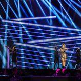 """Barei canta """"Say Yay!"""" en el tercer ensayo de Eurovisión 2016"""