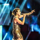 Barei vuelve a lucir el vestido del primer ensayo en el tercer ensayo de Eurovisión 2016