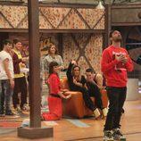 Rafa Méndez clamando al cielo en la segunda temporada de 'Fama ¡a bailar!'