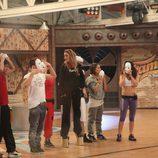 Los concursantes preparan una coreografía en la segunda temporada de 'Fama ¡a bailar!'