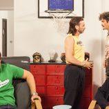 Fermín habla con su yerno Javi