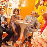Nines baila para un empresario chino