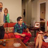 Alba Recio llora mientras discute con sus padres