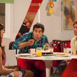 Los hermanos Rivas cenan con Alba Recio