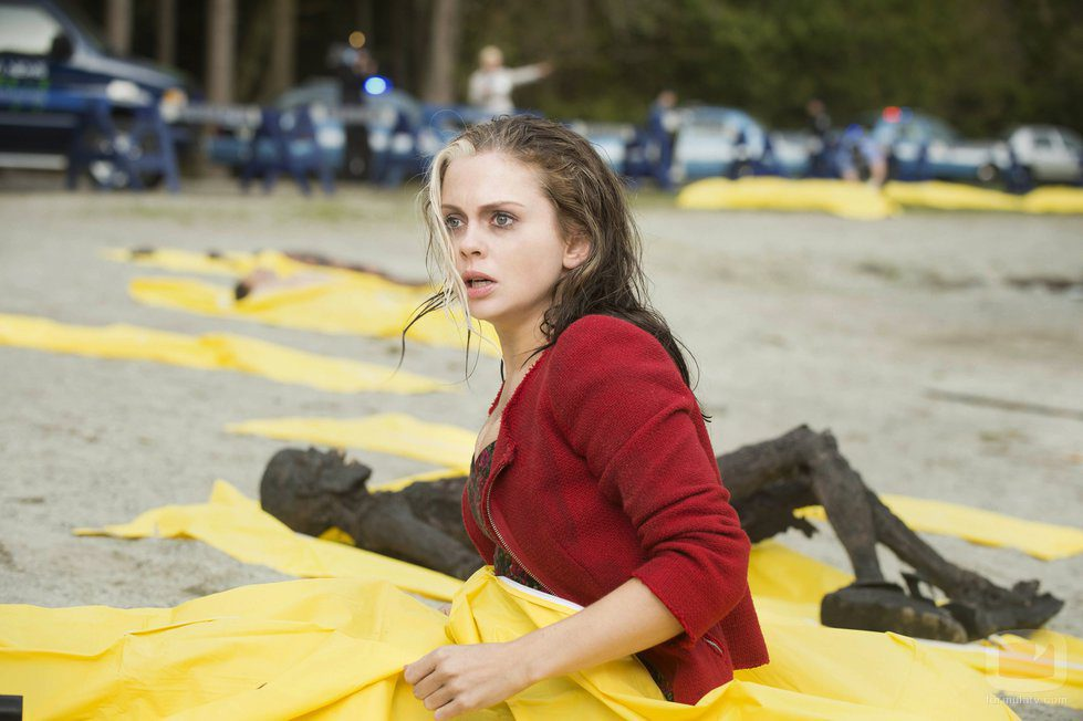 La protagonista de 'iZombie' en un fotograma del primer episodio