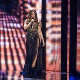 """Ira Losco canta """"Walk On Water"""" durante la primera semifinal de Eurovisión 2016"""