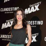 Pilar Rubio en la premiere de 'Clandestino con David Beriain'
