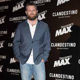 David Beriain en la premiere de 'Clandestino con David Beriain'