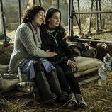 Susana y la joven secuestrada por ella y su marido en 'Vis a vis'
