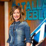 Inés Paz, la presentadora de 'La batalla de los pueblos'