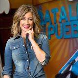 La presentadora de 'La batalla de los pueblos' es Inés Paz