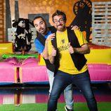 Luis Serrano y Christian González, padrinos de 'La batalla de los pueblos'