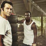 Hap y Leonard, protagonistas de 'Hap and Leonard'