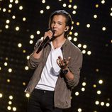 Frans, de Suecia, en la final del Festival de Eurovisión 2016
