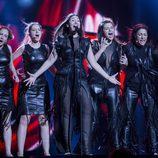 Sanja Vucic ZAA, de Serbia, en el Festival de Eurovisión 2016