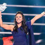 Jamala, Ucrania, ganadora del Festival de Eurovisión 2016