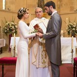 Carmen e Iñaki se prometen amor eterno frente al cura