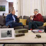 Josema Yuste junto a Bertín Osborne en 'Mi casa es la tuya'