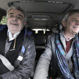 Josema Yuste y Millán Salcedo juntos en el programa 'Mi casa es la tuya'