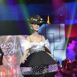 Karmele Marchante desfila en la segunda edición de la