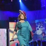"""Terelu Campos desfila en la segunda edición de la """"Sálvame Fashion Week"""""""