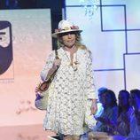 """Lydia Lozano en el segundo desfile de la segunda edición de la """"Sálvame Fashion Week"""""""