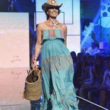 Raquel Bollo en el segundo desfile de la segunda edición de la