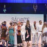 """Los colaboradores de 'Sálvame' tras el segundo desfile de  la """"Sálvame Fashion Week"""""""