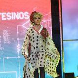 """Lydia Lozano en el tercer desfile de la segunda edición de la """"Sálvame Fashion Week"""""""